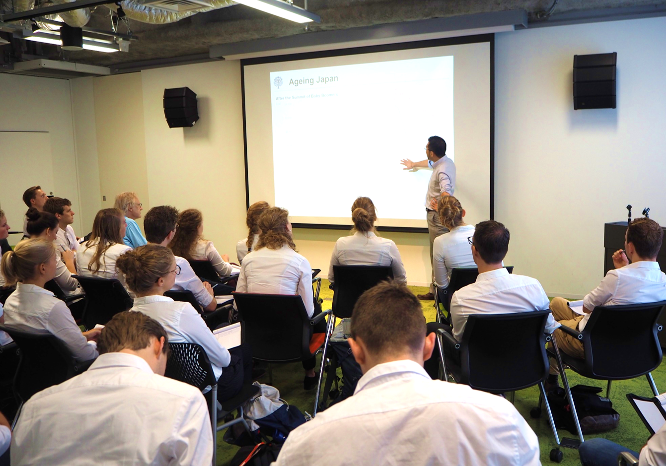 [Event Report] HGPI held a discussion with students from the University of Twente on health policies and ageing in Japan(September 12, 2018)