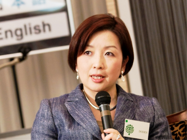 Aiko Doden, Senior Commentator, NHK
