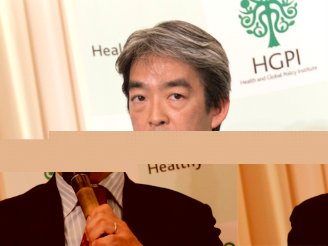 Kenji Shibuya, Professor, Department of International Health Policy and Planning, Graduate School of Medicine, University of Tokyo