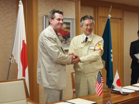 MOU Ceremony: Project HOPE and the Governor of Iwate