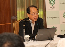 """[Event Report] The 32nd Special Breakfast Meeting """"Japan Healthcare Policy"""" (Mr. Hiroto Izumi, Special Adviser to the Prime Minister)(Aug. 1, 2016)"""