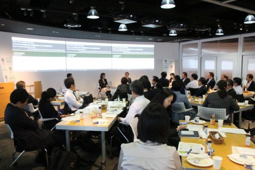 [Event Report] 73rd Breakfast Meeting – Ideas for Passive Smoking Prevention from the 2018 Public Survey on Healthcare in Japan (October 23, 2018)