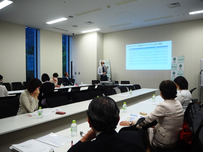 [Event Report] Non-partisan Diet Member Briefing – 30-minute Health Policy Update #7: Issues in Japan's Immunization and Vaccination Policy and the COVID-19 Pandemic (June 8, 2021)