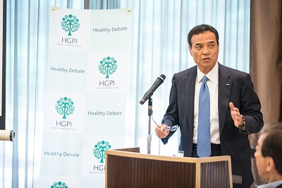 """[Event Report] The 38th Special Breakfast Meeting """"The Basic Policy on Economic and Fiscal Management and Reform and Social Security System Reform in Japan"""" Mr. Takeshi Niinami"""