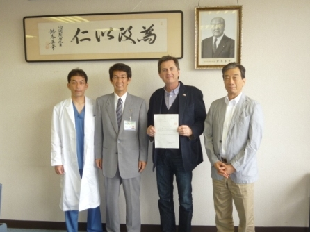 Talks on Ongoing Support for Disaster Areas in Iwate Prefecture