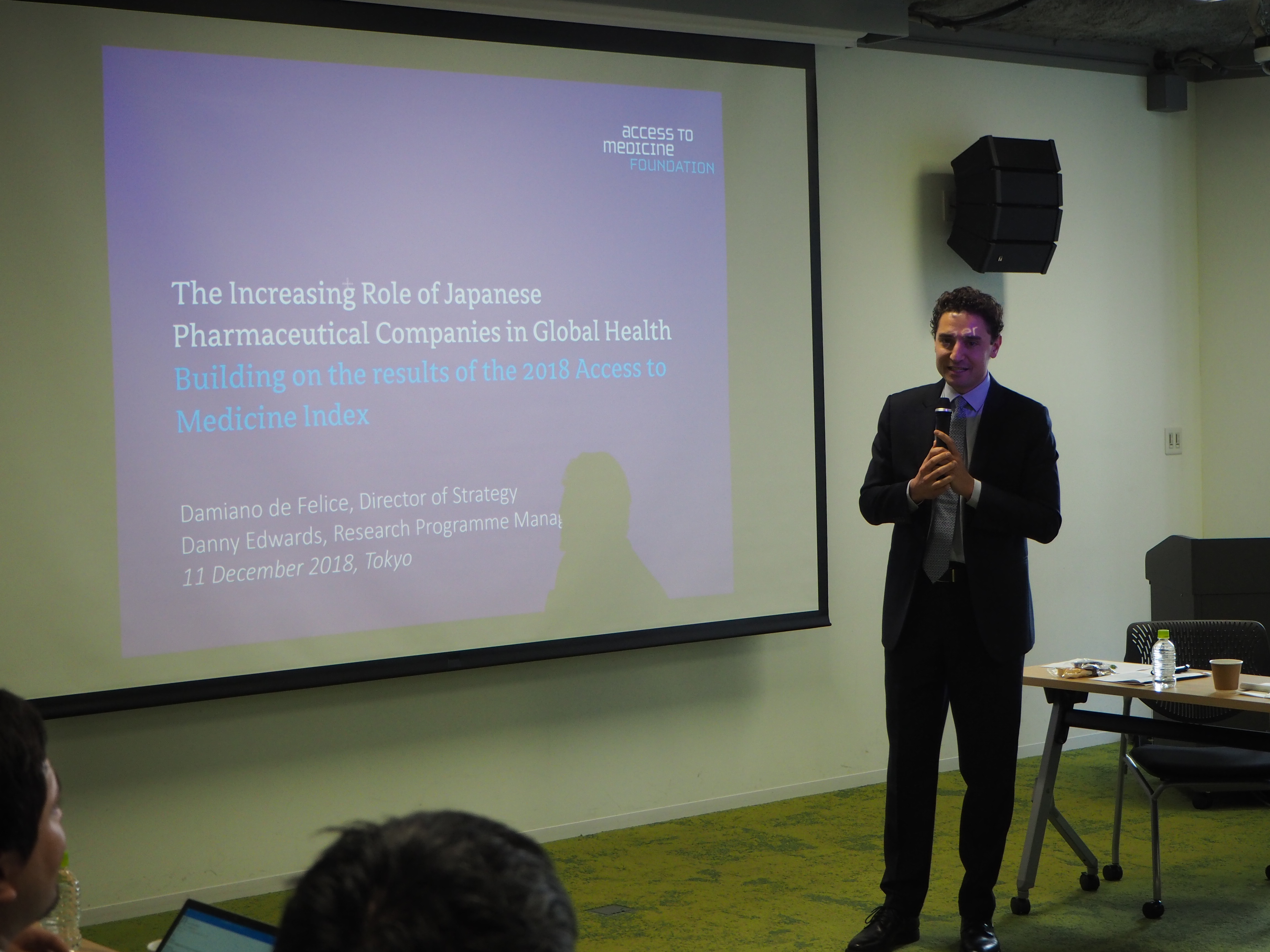 [Event report] Roundtable – The Increasing Role of Japanese Pharmaceutical Companies in Global Health (December 11, 2018)
