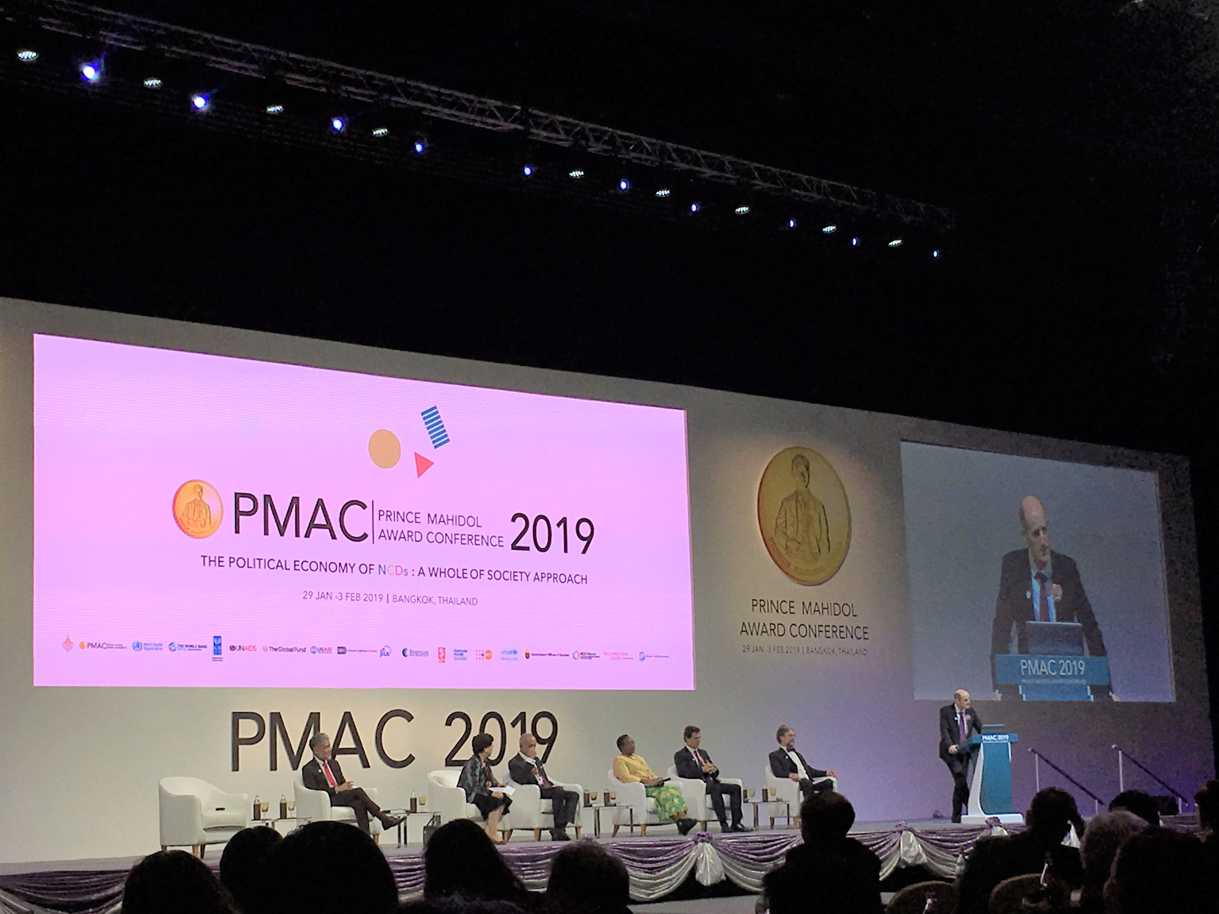 [Event Report] Attends Prince Mahidol Award Conference 2019, Held on the Theme of Non-Communicable Diseases (NCDs)(January 29 – February 3, 2019)