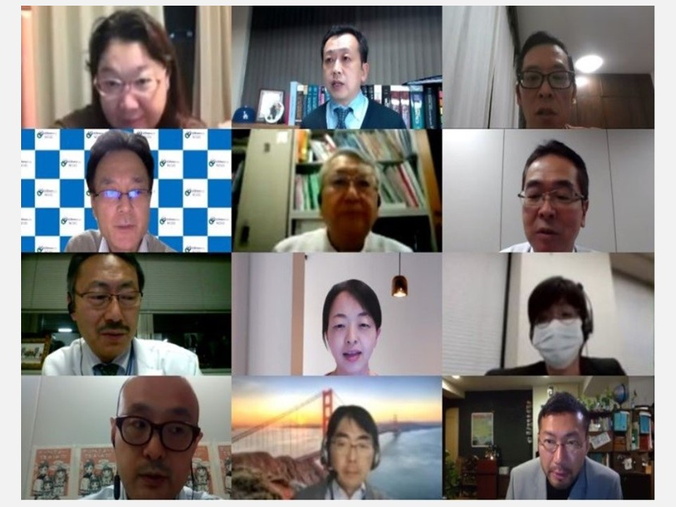 """[Event Report] The Third Advisory Board Meeting for the Immunization and Vaccination Policy Promotion Project, """"Data Collection and Application to Appropriately Evaluate Vaccination Outcomes"""" (November 10, 2020)"""