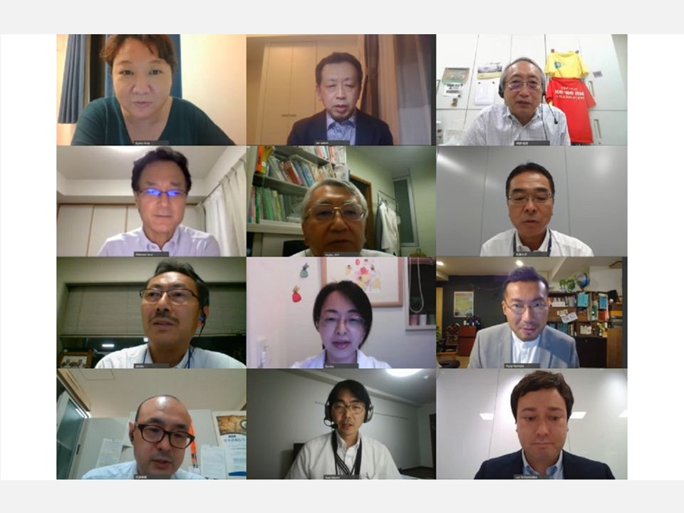 """[Event Report] The Second Advisory Board Meeting for the Immunization and Vaccination Policy Promotion Project, """"Charting the Way Forward on Immunization Policy: International Trends and the Situation in Japan"""" (September 15, 2020)"""