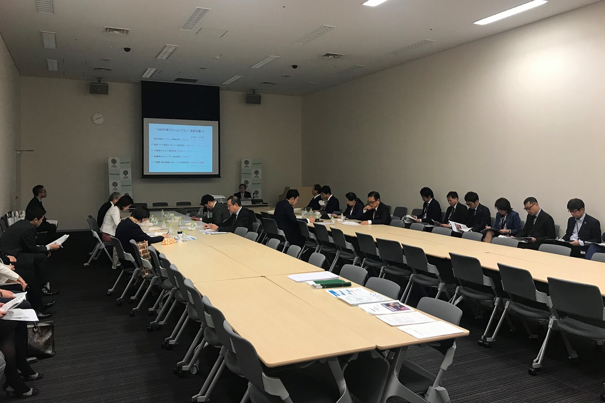 "[Event Report] Diet Member Briefing – ""30-minute Health Policy Update #1: Tokyo 2020 and Infectious Diseases – The Challenge of AMR"" (November 6, 2019)"