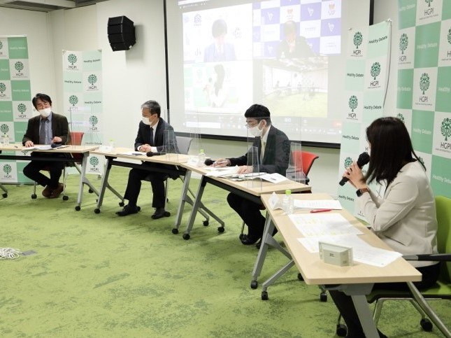 """[Event Report] Innovation and Sustainability Symposium """"Expectations Toward the Future Shape of the Japanese Healthcare System Exploring Issues of Cost, Quality, and Access Identified in Public Opinion Research"""" (January 22, 2021)"""