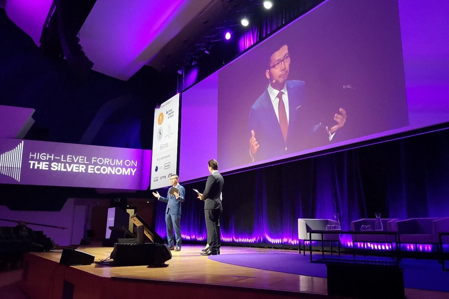 [Presentation] High-Level Forum on the Silver Economy (July 9 – 10, 2019, Helsinki, Finland)