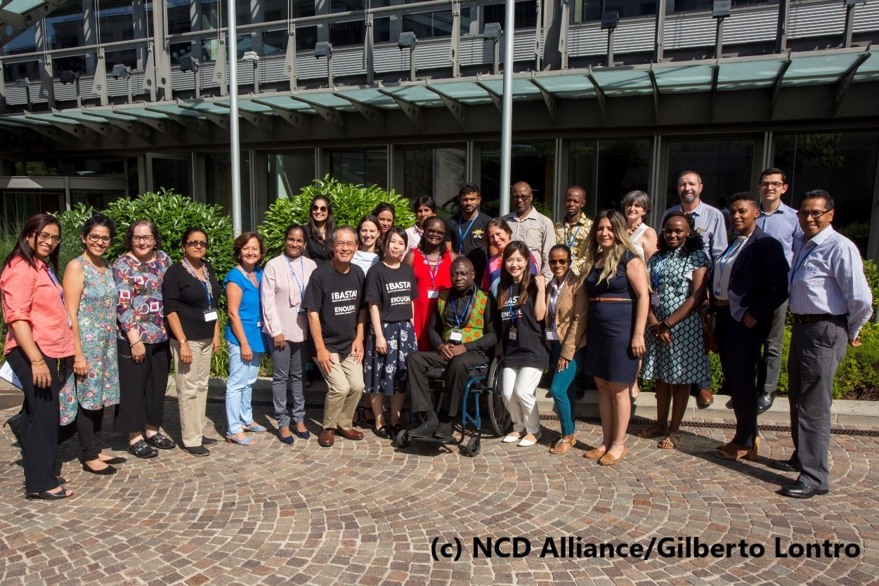 "[Activity Report] HGPI Participates in NCD Alliance's ""Our View, Our Voices 2019"" Workshop for Educating Trainers and Enhancing Advocacy Abilities for People with NCDs (June 26-28, 2019)"