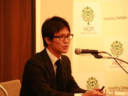 鹿角契(GHIT Fund(グローバルヘルス技術振興基金)戦略担当部長)