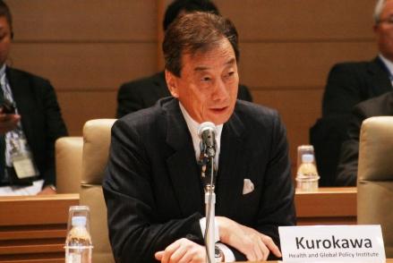Dr. Kiyoshi Kurokawa (Chairman, Health and Global Policy Institute)