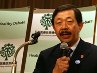 作田 学 氏(日本禁煙学会理事長/杏林大学神経内科)