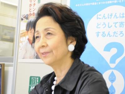 グローバル・ヘルス・インタビュー:世界の子どもにワクチンを 日本委員会