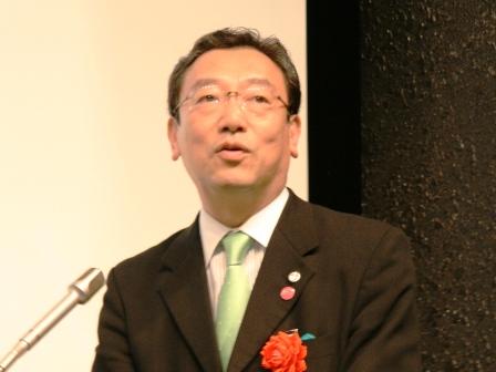 長浜 博行 氏( 厚生労働副大臣)