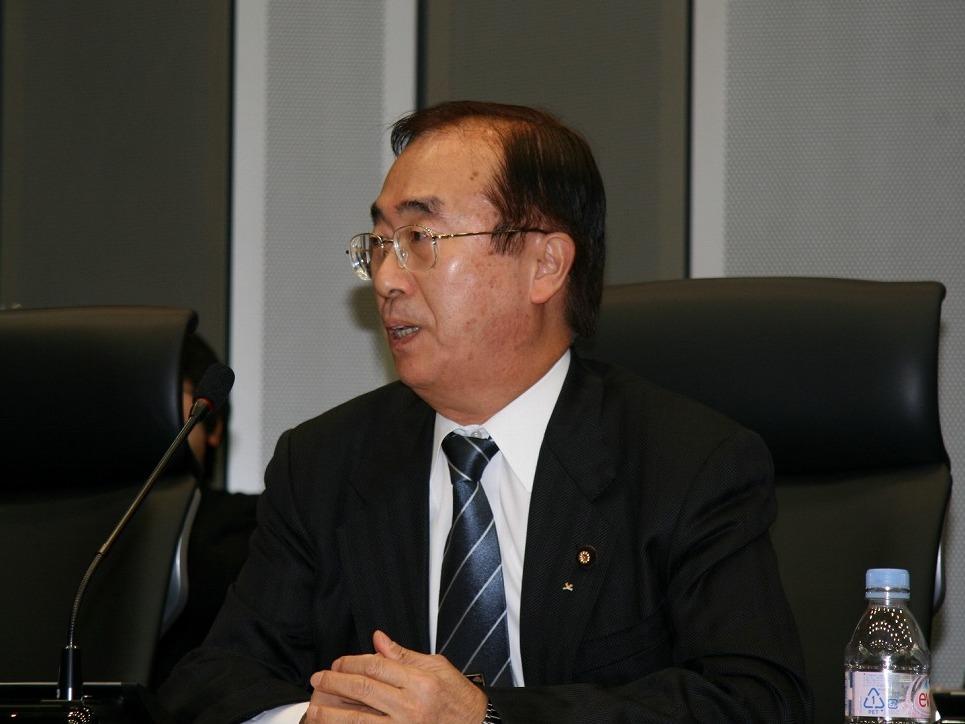 渡辺 孝男 氏(参議院議員 公明党)