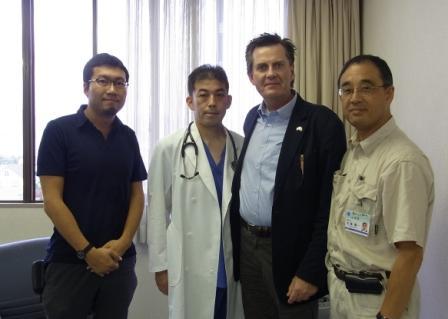 岩手県にて被災地医療支援に関する協議実施