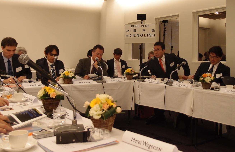 オランダ大使館「ヘルスケアラウンドテーブル2011」開催報告