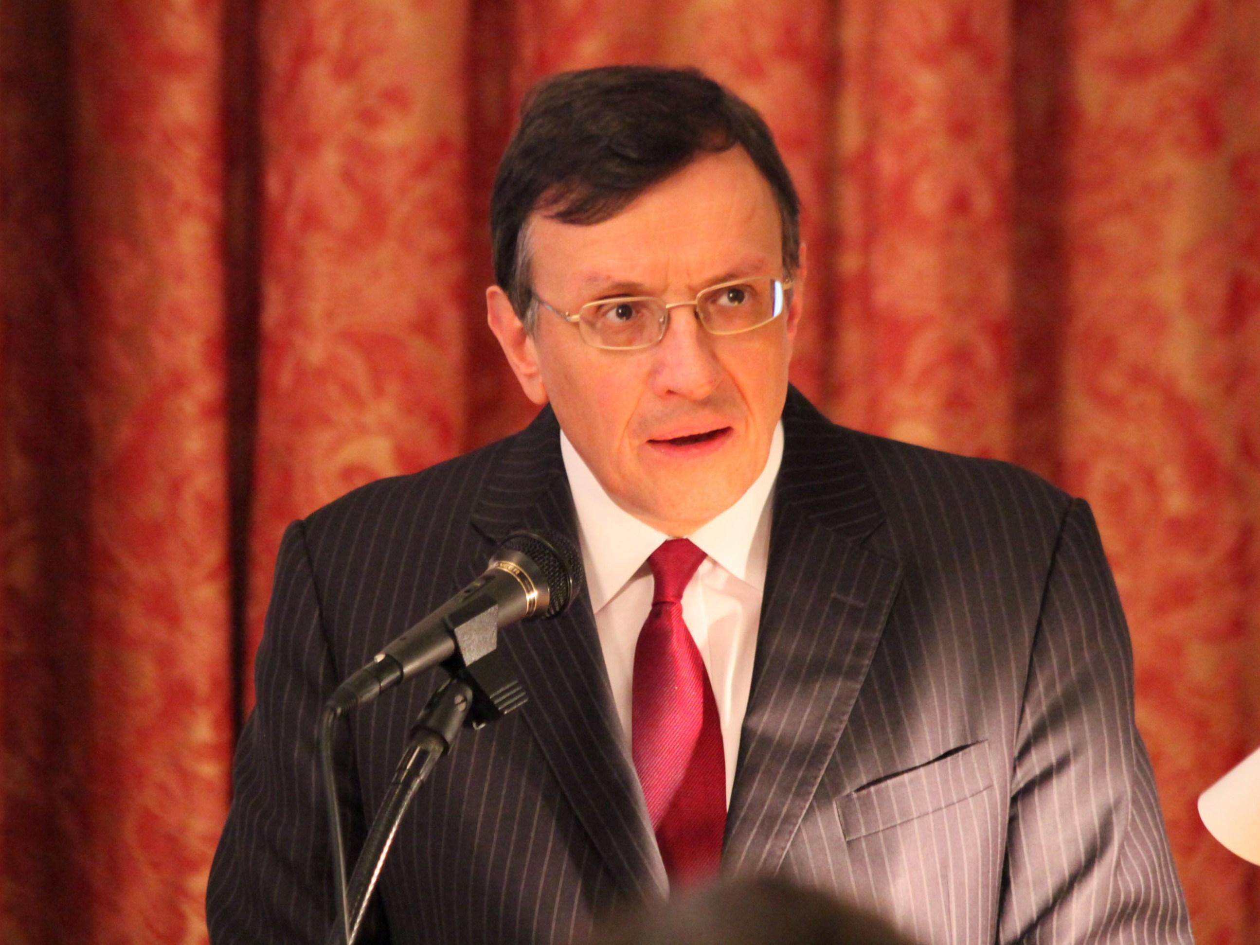 デイビッド・ウォレン 氏(駐日英国大使)