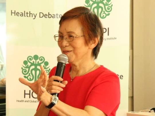 「国際保健NGOのアドボカシー」第38回朝食会開催報告