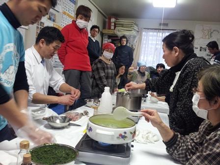 復興庁委託事業 第1回はまらっせんキッチンin 元気村 開催