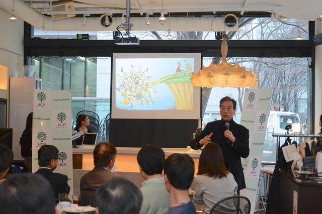 (開催報告)第47回定例朝食会 黒川清による新春講演