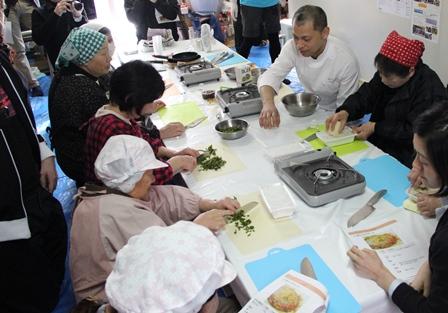 復興庁委託事業 第2回はまらっせんキッチンin 元気村 開催