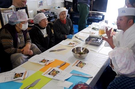 復興庁委託事業 第3回はまらっせんキッチンin 元気村 開催