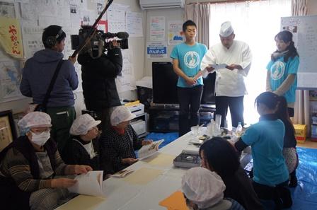 NHKの取材が入りました