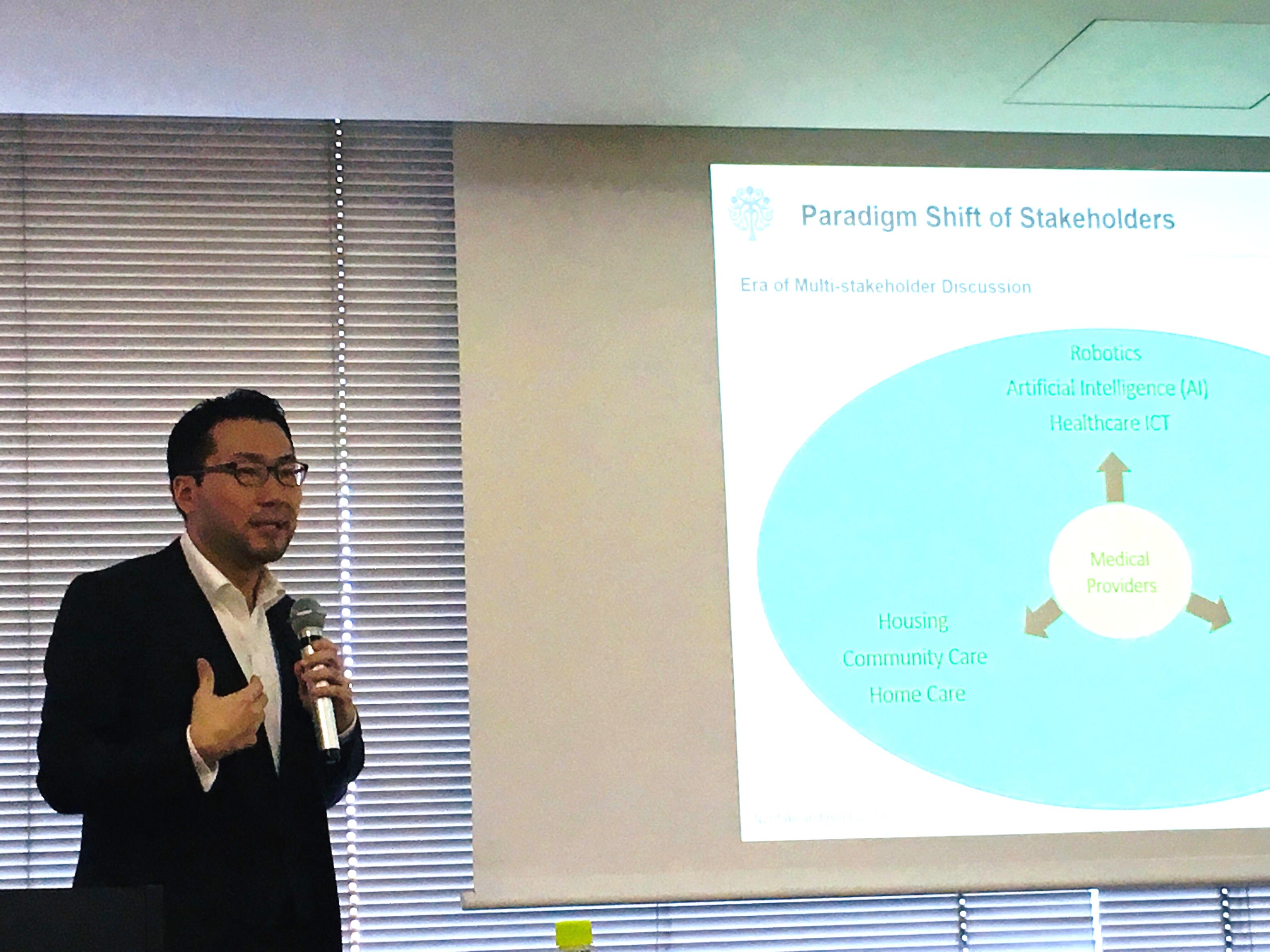"【講演】""Introduction To Global Health"" グローバルヘルス学総論(大阪大学医学系研究科公衆衛生学教室、2018年12月15日)"