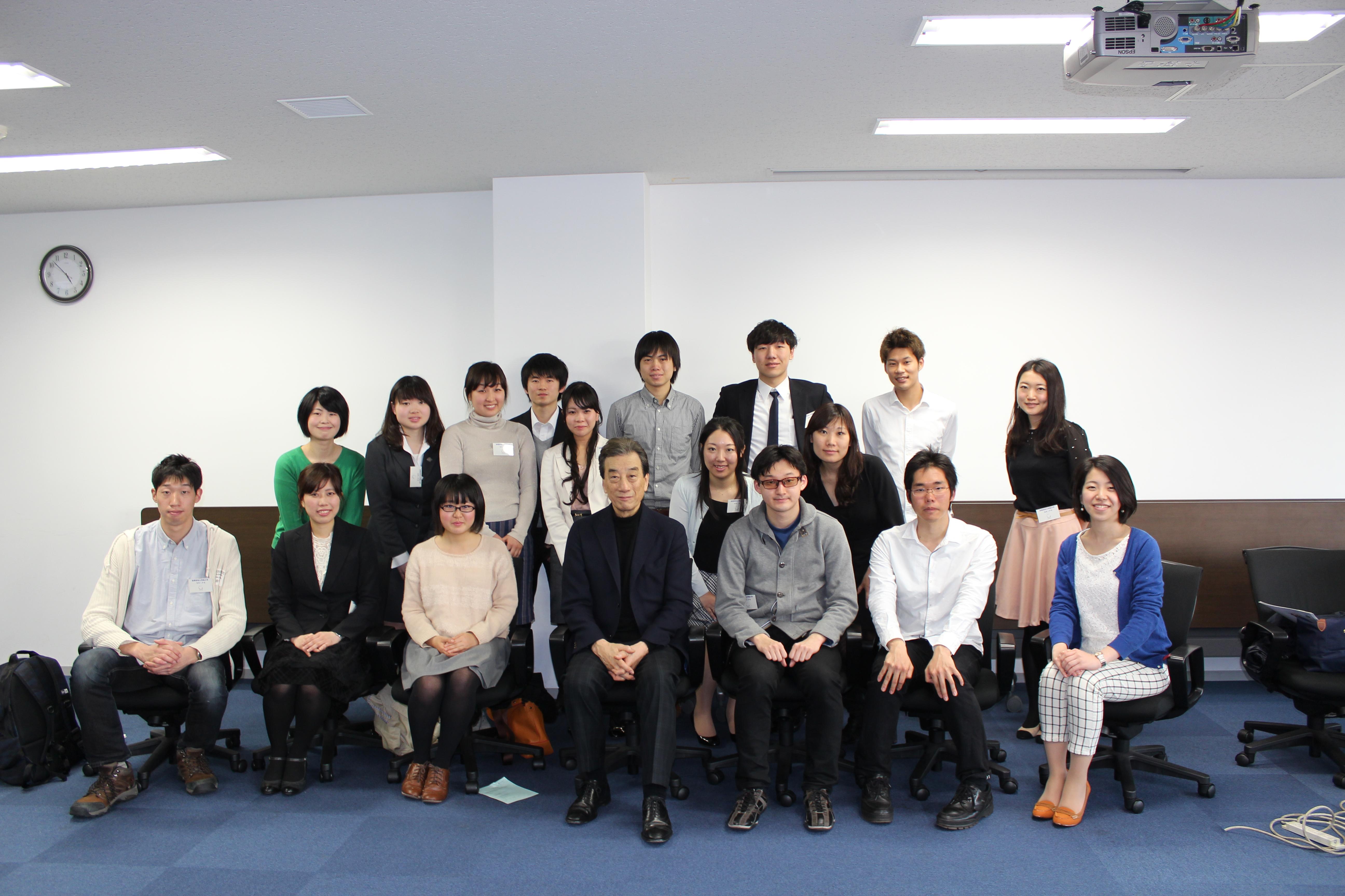 (開催報告)「21世紀を生き抜くキャリアの作り方」:U25対象、黒川清が贈るヘルスセクターキャリアセミナー