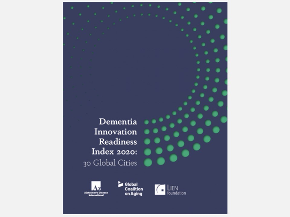 【開催・出版報告】The Dementia Innovation Readiness Index 2020 Launch Webinar(2020年10月8日)