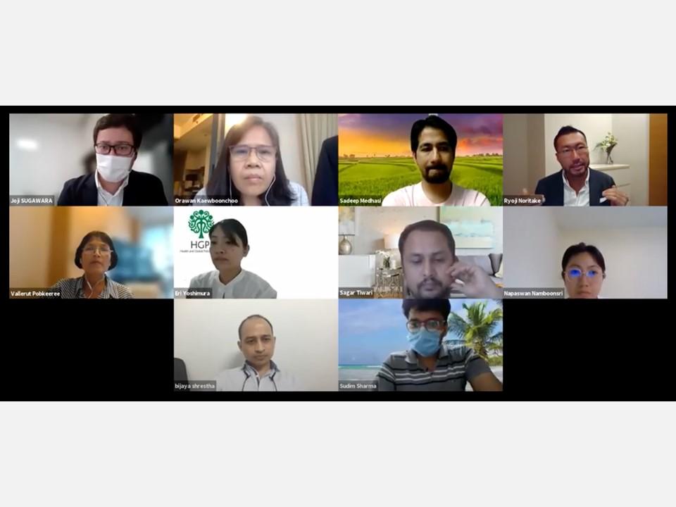 【開催報告】グローバルヘルス・エデュケーション・プログラム(G-HEP)2021-2022 グローバルヘルス・アカデミー第7回講義「政策提言とアドボカシー」(2021年8月11日)