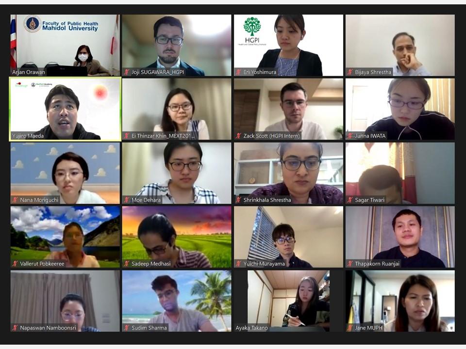 【開催報告】グローバルヘルス・エデュケーション・プログラム(G-HEP)2021-2022 グローバルヘルス・アカデミー第4回講義「ヘルステクノロジー」(2021年5月12日)