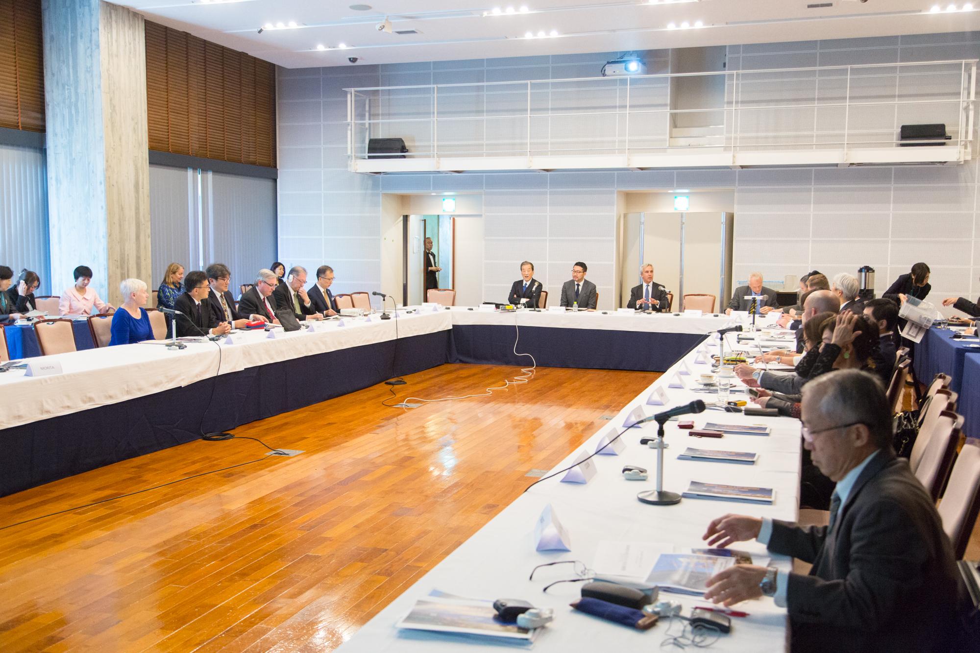 【開催報告】グローバル専門家会合『超高齢社会におけるイノベーション ~テクノロジー・健康・介護・都市計画へのインパクト~』GCOA-HGPI共催ラウンドテーブル(2018年11月2日)