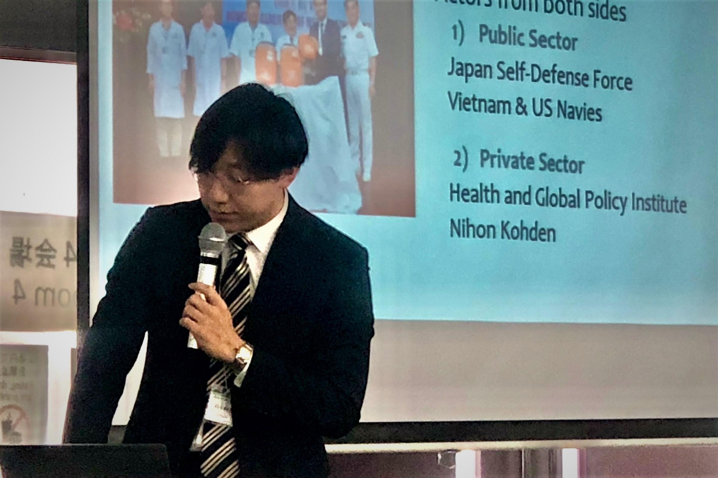 【学会発表】第34回日本国際保健医療学会学術大会 (2019年12月8日、三重県津市)