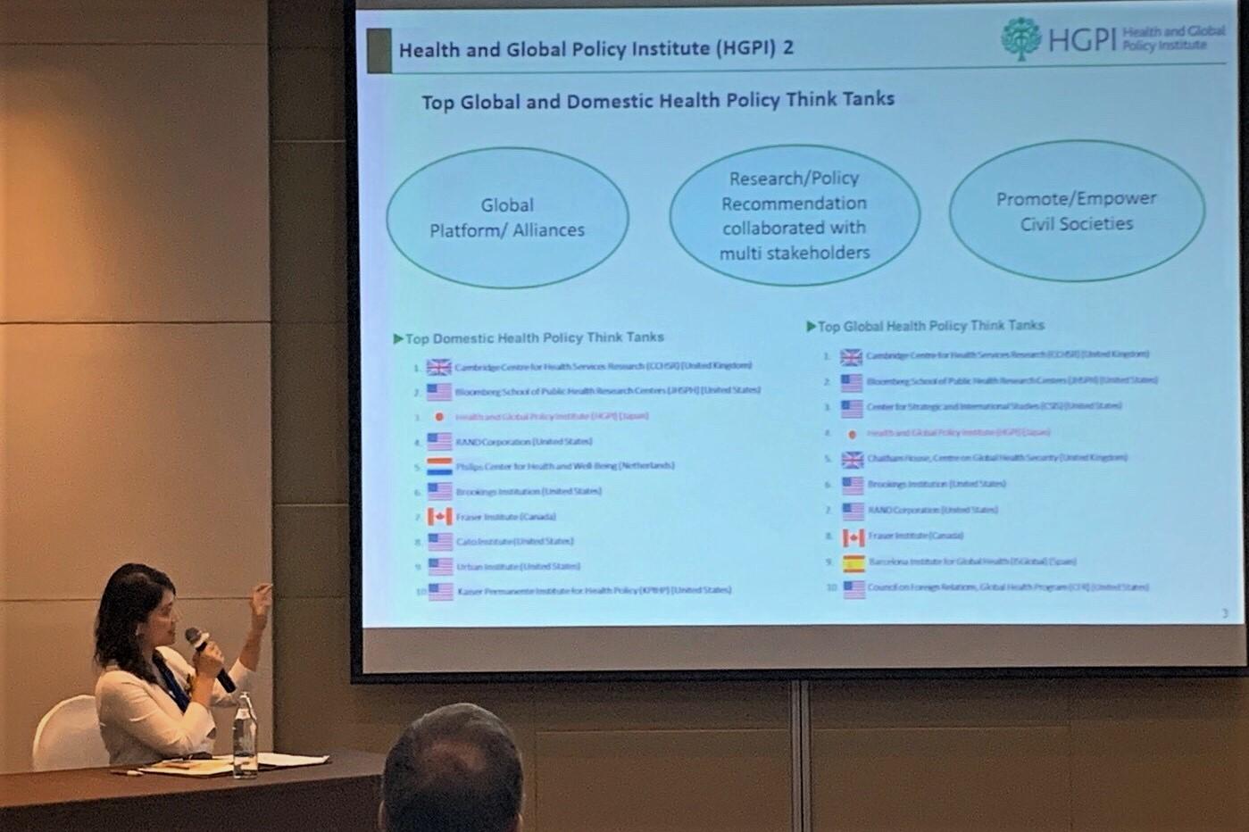 【講演報告】51st The Asia-Pacific Academic Consortium for Public Health (APACPH) : SDGs in Reality(マヒドン大学公衆衛生学部主催、2019年11月21日、22日、タイ・バンコク)