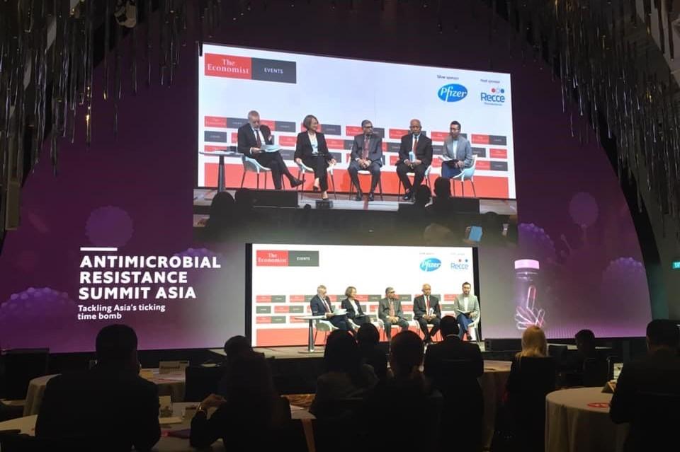 【講演報告】エコノミスト主催「The Antimicrobial Resistance Summit Asia」(アジア薬剤耐性サミット)(2019年12月5日)