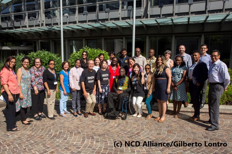 【参加報告】NCD Alliance主催 当事者アドボカシー能力強化・トレーナー養成ワークショップ「Our View, Our Voices 2019」(2019年6月26日~28日)